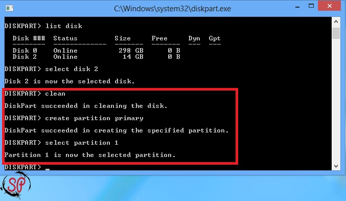 make bootable pendrive using cmd