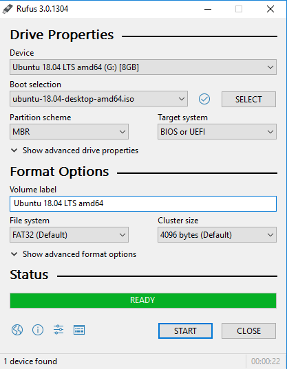 make bootable usb using rufus
