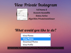 how to view private instagram profile