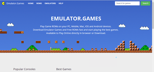 emulator games free roms download site