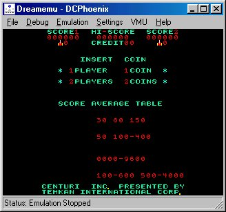 Dreamemu emulator