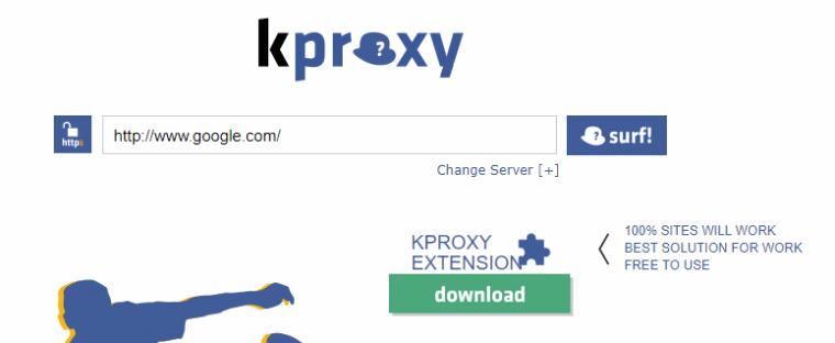 kproxy online browser