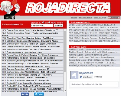 rojadirecta free streaming