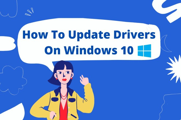 update drivers on windows 10