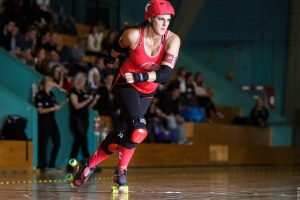 Me playing Roller Derby