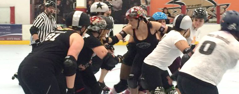CHRISTMAS IN LA 2014 – DAY 3: OC Roller Girls Scrim