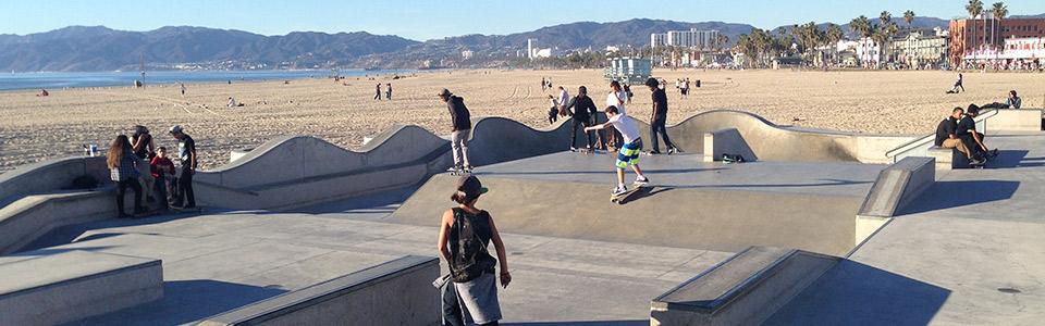 NY IN LA 2015 – DAY 11: Venice Beach Skatepark!