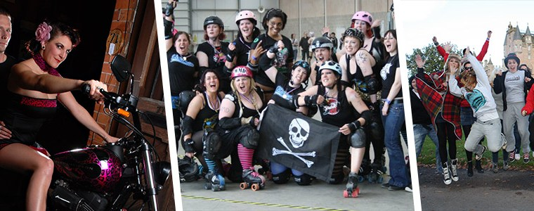 My ten year history of Roller Derby – Year: 2010