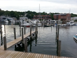 View from Red 36, Mystic, CT