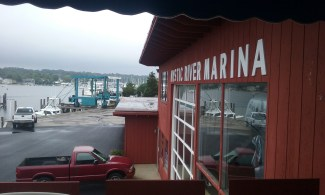 Mystic River Marina, site of Kitchen Little