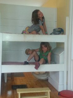 Bunk beds are fun!