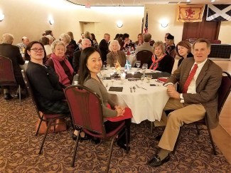 From front center: Anne Ma, Carolyn Hahn-Re, Charlene Roberson, Bill Wolfe, Gabrielle Whitehead, Swan Grant, Libby Grant, Mark Pruner