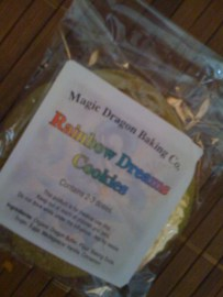 Rainbow Dreams Marijuana Cookie