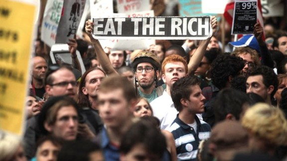 Occupy Wall Street and Eat the Rich AND POT BROWNIES
