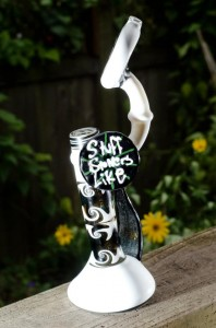 Stuff Stoners Like Custom Glass Bubbler is a One of A KIND