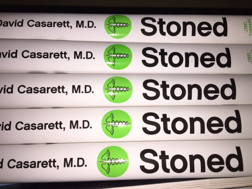 """Does medical marijuana work?"" That's the question Dr. David Casarett aims to answer in STONED"