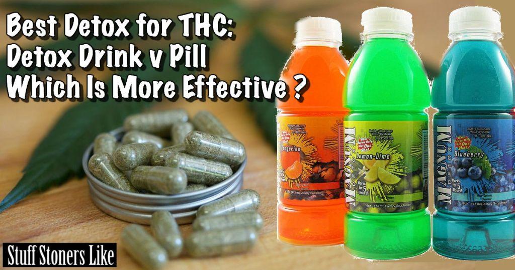 Best Detox for THC