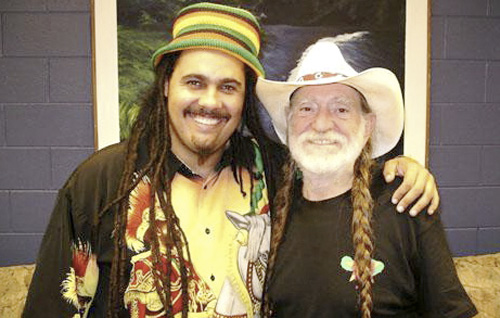Marty Dread and Willie Nelson