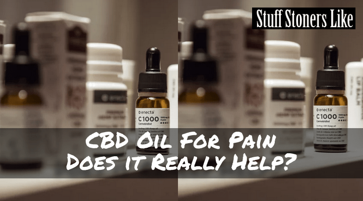 CBD oil for pain does it really work?