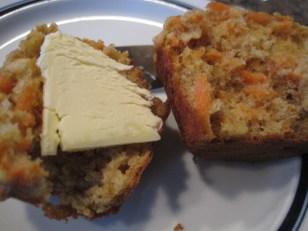 carrot oatmeal muffin 2