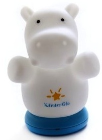 Hippopotamus night light