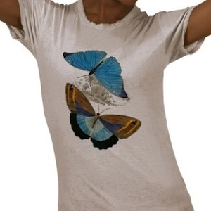 Fly like a butterfly by wearing this butterflies t-shirt