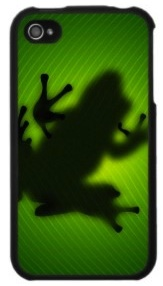 frog iphone 4 case find the shadow