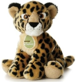 Aurora plush cheetah baby