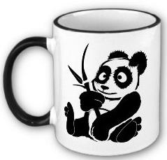 stuff with animals panda mug