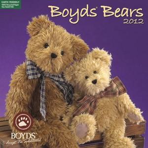 Boyds Bears 2012 Wall Calendar