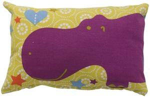 Hippopotamus pillow