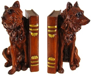 Timer Wold Bookends