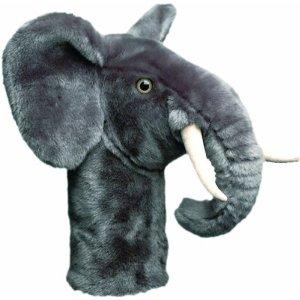 Elephant golf club head cover