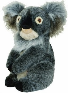 Koala Gold club head cover