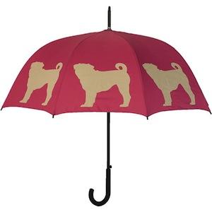Dog Pug Umbrella