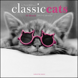 Classic Cats 2013 Wall Calendar
