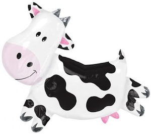 cute cow balloon