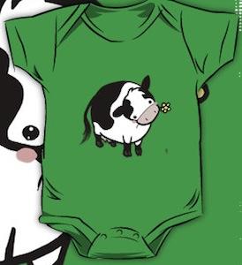 Cute Cow Baby rompert