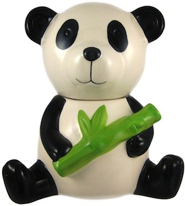 Ceramic Panda Cookie Jar