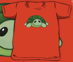 Kids baby turtle t-shirt
