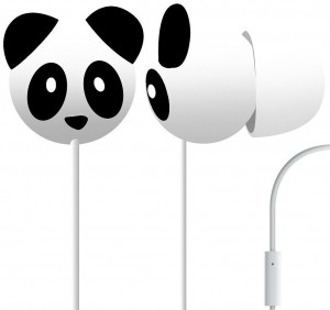 Panda Headphone Earbuds