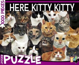 Cat Here Kitty Kitty 1000 Piece Jigsaw Puzzle