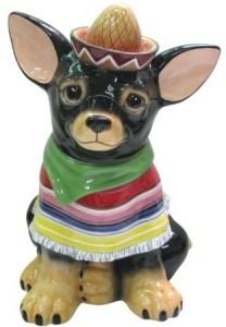 Chihuahua Cookie 12 Inch Jar