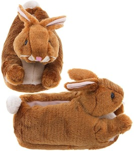 womens rabbit slippers