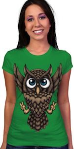 Victory Owl T-Shirt