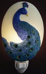 Peacock Night Light