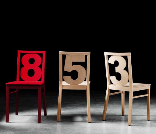 B Serie Stuhl Numbers