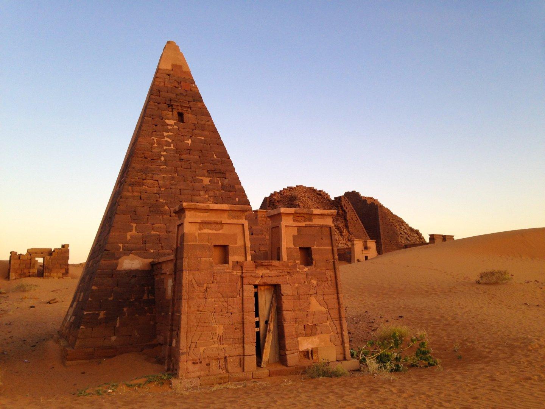 Meroë Pyramids, Sudan