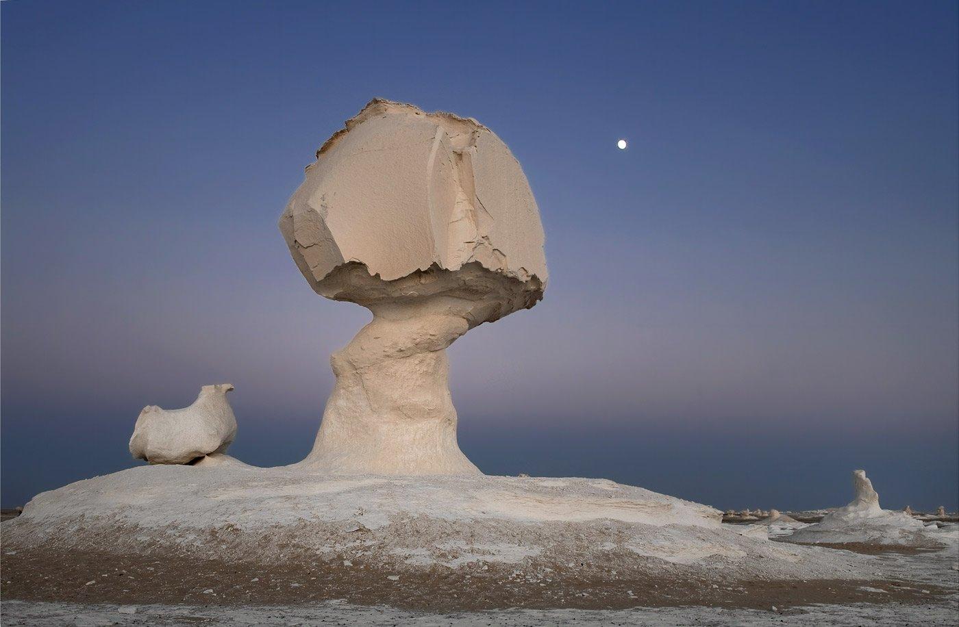 White Desert, Egypt - dusk