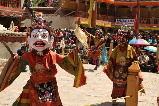 Hemis Mask Dancers